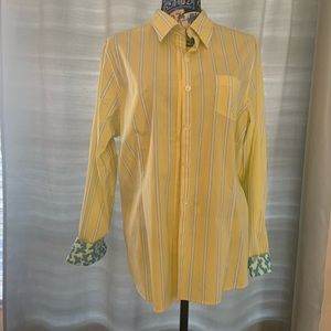 L.L bean women's button down shirt top size XL